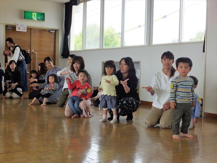 4月25日(火)平成29年度のにこにこ教室 始まりました!(ほし組)の写真