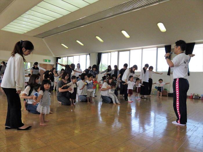 6月13日(火)キャプテン体育教室・幼稚園探検しよう(ほし組)の写真