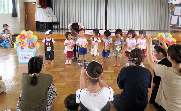 9月12日(火)リズミックス教室(ほし組)の写真