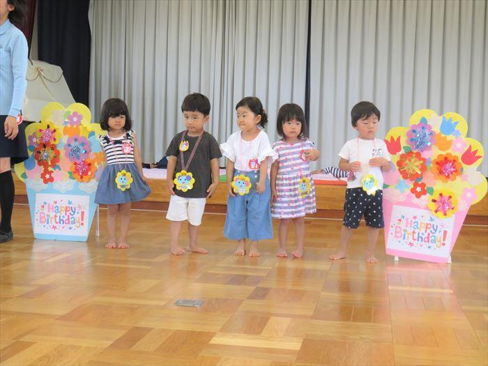 7月10日(火)水遊び(プール) (ほし組)の写真