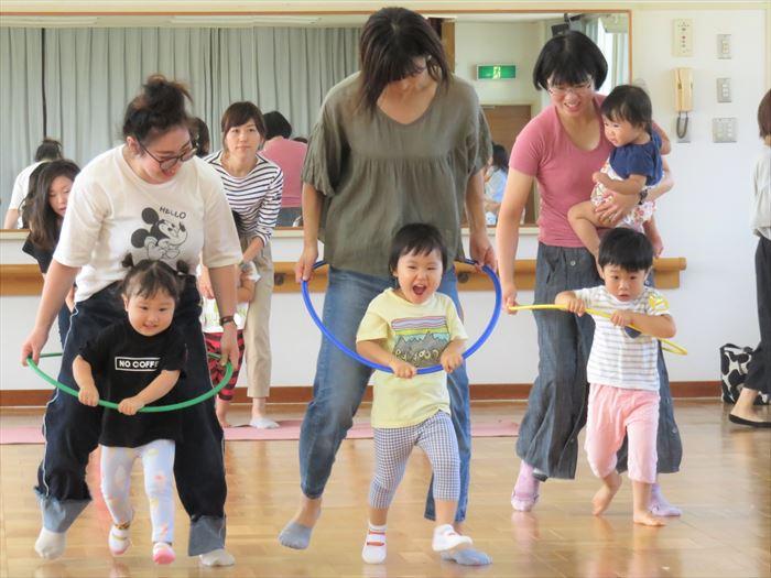 9月18日(火)親子でかけっこあそび(そら組)の写真