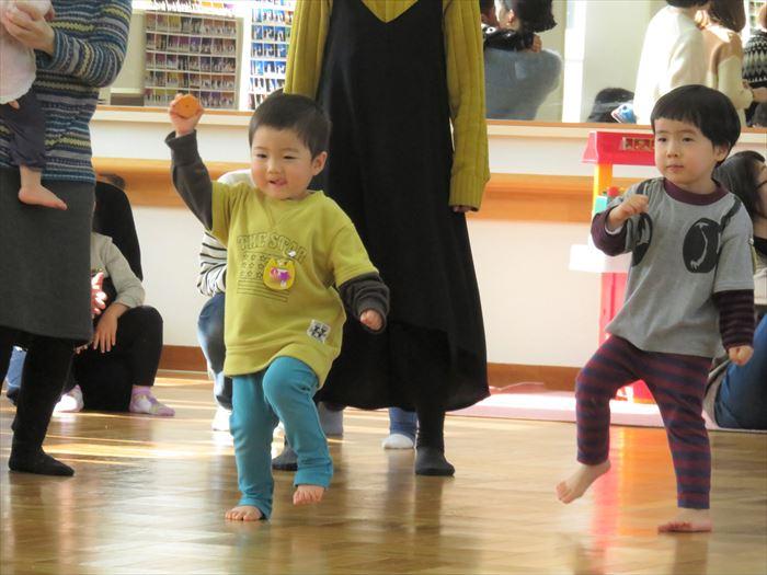 1月15日(火)リズミックス教室(そら組)の写真