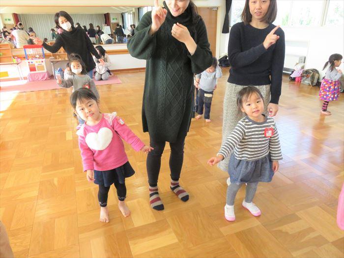 1月22日(火)リズミックス教室(ほし組)の写真