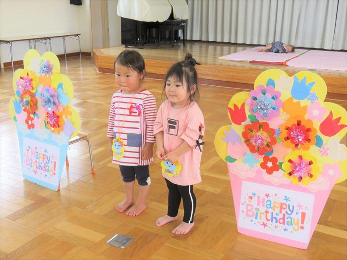5月14日(火) 令和元年度のにこにこ教室が始まりました!(ほし組)の写真