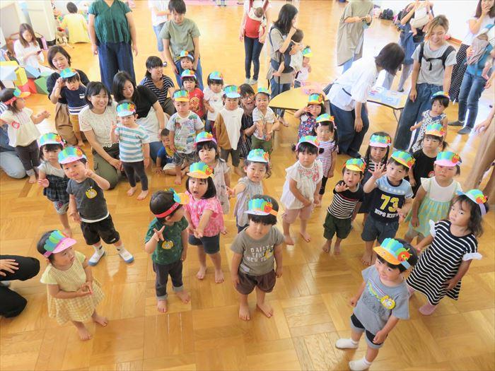 6月25日(火) みんな大好き♡はらぺこあおむし(ほし組)の写真