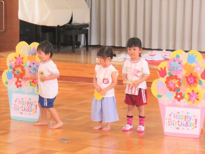 7月9日(火) 水あそび(プール)(ほし組)の写真