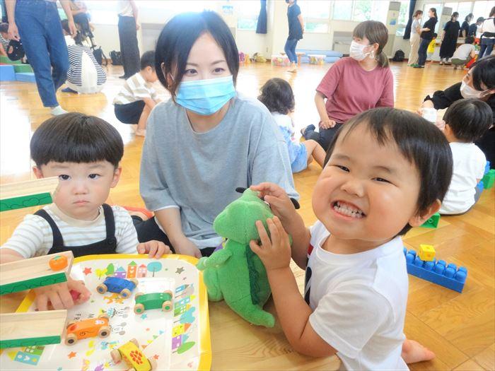 7月7日(火)幼稚園探検しよう(そら組)の写真