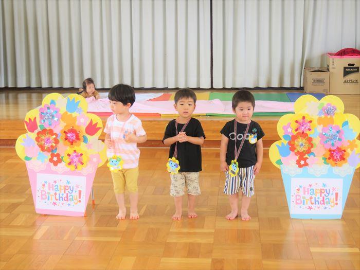 7月14日(火)幼稚園探検しよう(ほし組)の写真