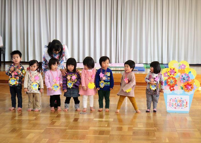 1月16日(火)リズミックス教室(そら組)の写真