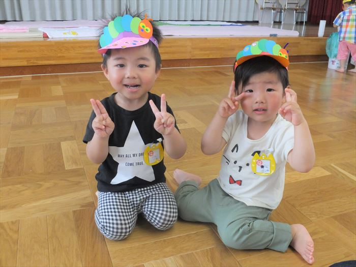 6月5日(火) みんな大好き♡はらぺこあおむし(そら組)の写真