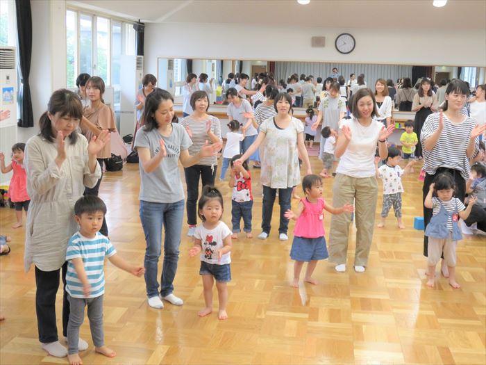 6月26日(火)キャプテン体育教室・幼稚園探険しよう!(ほし組)の写真