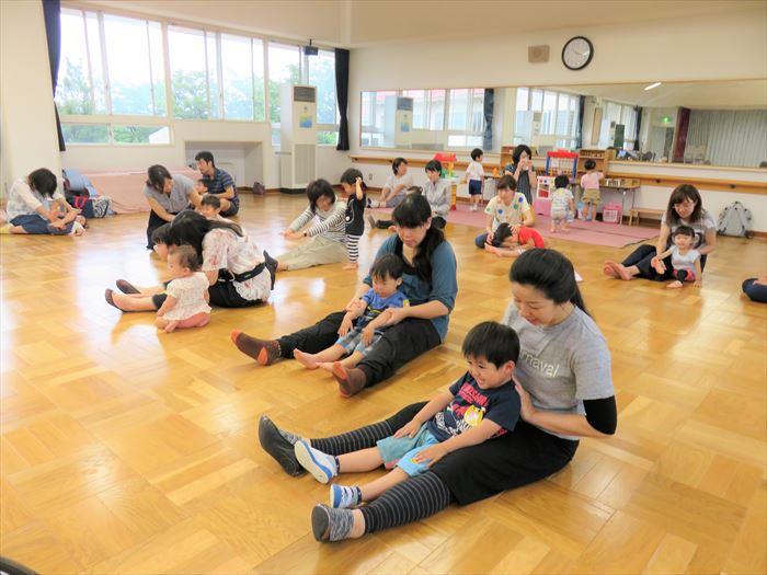 6月19日(火)キャプテン体育教室・幼稚園探険しよう!(そら組)の写真