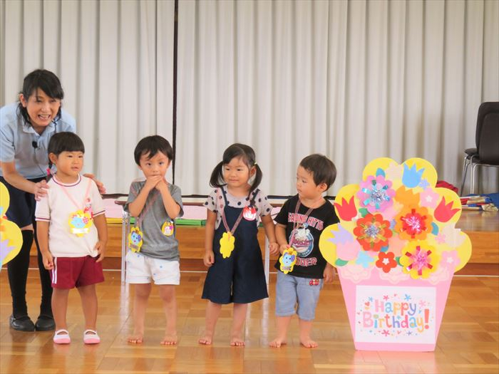 9月11日(火) 英語教室(ほし組)の写真