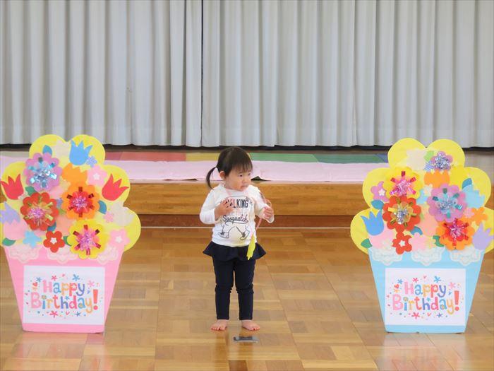 5月7日(火) 令和元年度のにこにこ教室が始まりました!(そら組)の写真