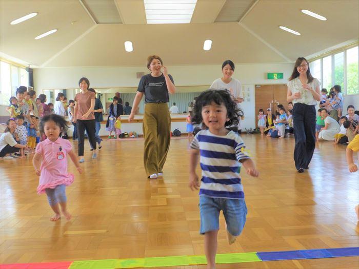 9月3日(火) 親子でかけっこ遊び(そら組)の写真