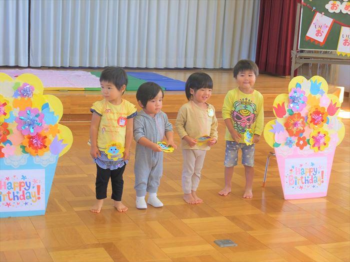 10月20日(火)英語教室(そら組)の写真