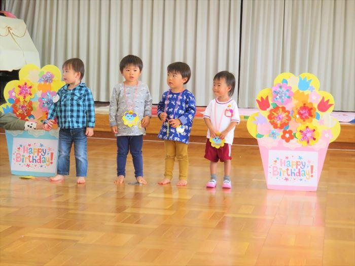 10月27日(火)英語教室(ほし組)の写真