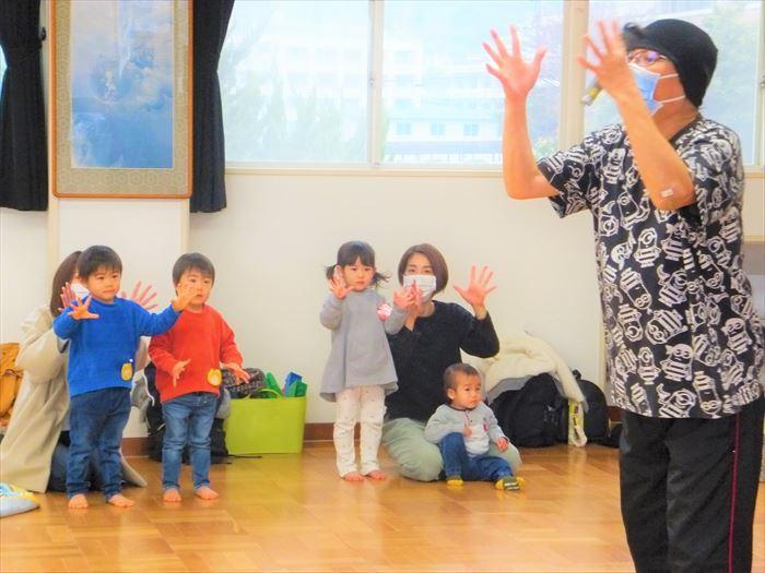 1月26日(火)リズミックス教室(ほし組)の写真