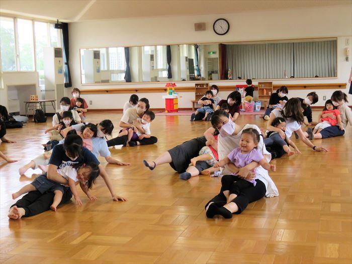 6月15日(火)キャプテン体育教室(そら組)の写真