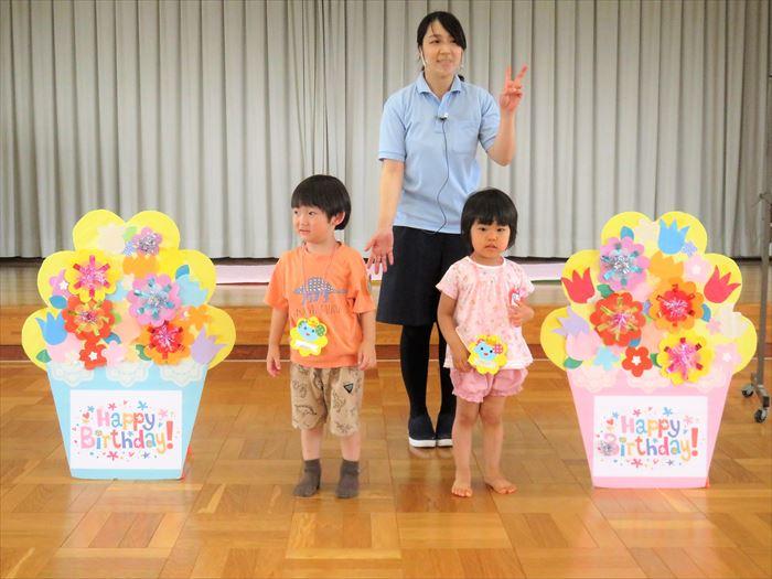 7月13日(火)幼稚園探検をしよう(ほし組)の写真