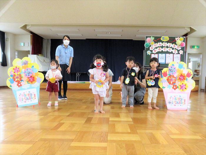 9月7日(火)にこにこ教室親子運動会!(そら組)の写真